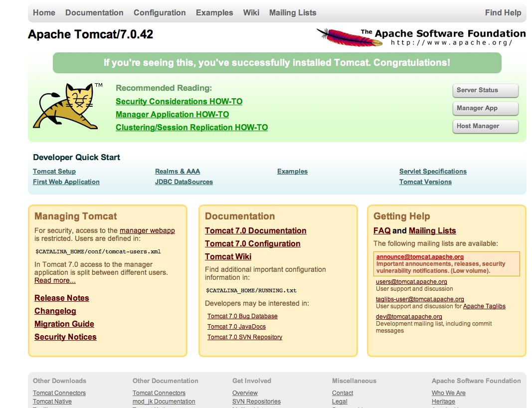 Apache Tomcat_7.0.42_Default_Page