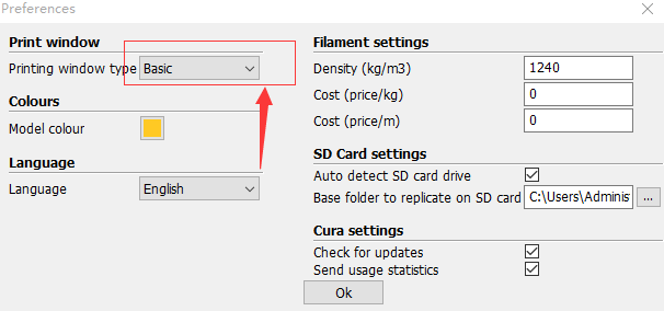 Cura_15_Preferences_Window