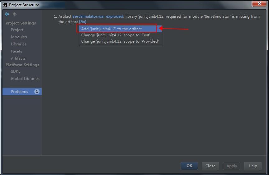 fix_junit4_problem_select_menu