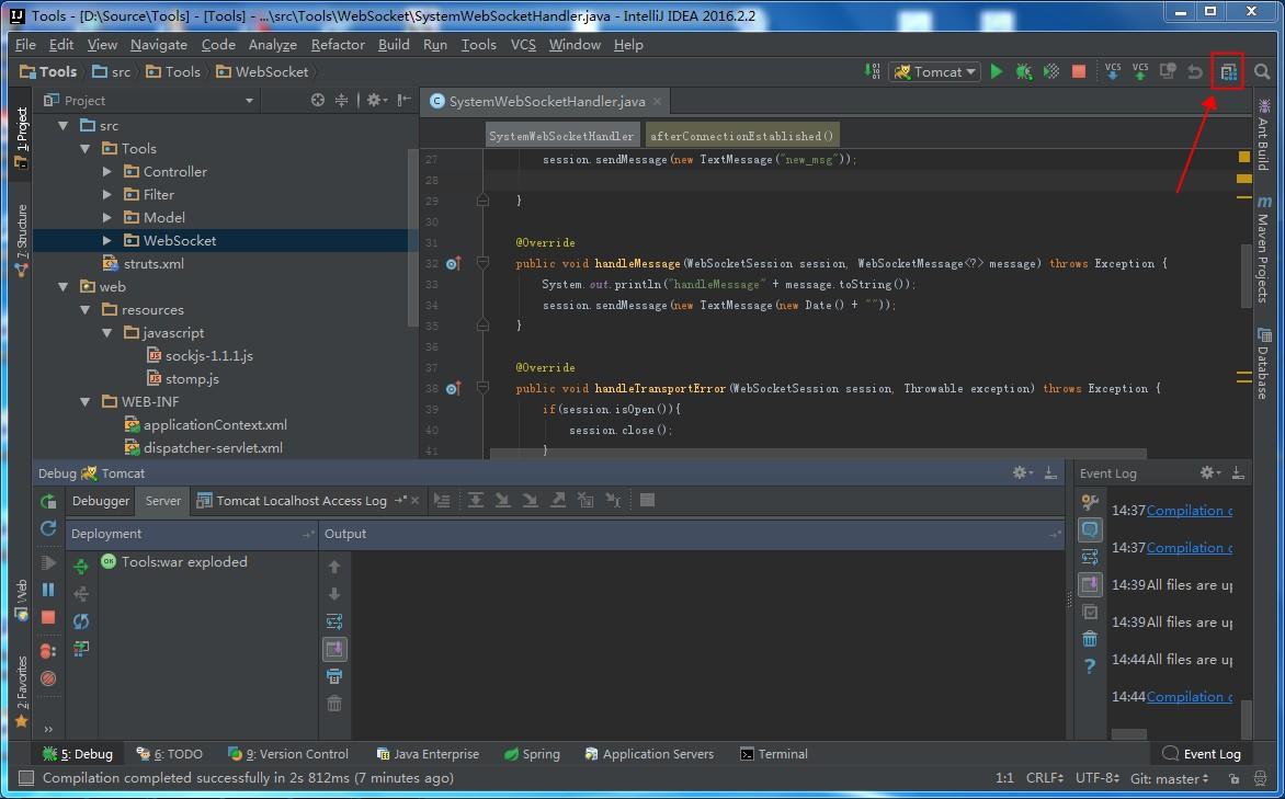 ToolWebSocketProjectStructure