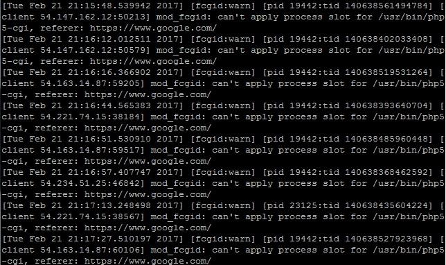 Ubuntu 14 04系统上使用Apache2 4 10+PHP5+FastCGI的Wordpress网站大量